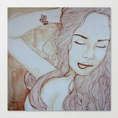 Sensualite Canvas Print