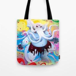 Gajasura Tote Bag