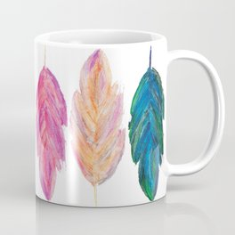 feather fully Coffee Mug