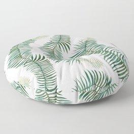 tropical leves wild Floor Pillow