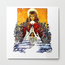 Labyrinth Metal Print