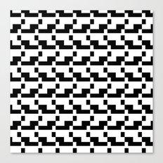Blankaart Black & White Pattern Canvas Print