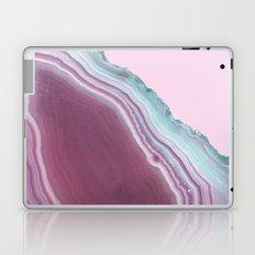Geode Pink + Turquoise Laptop & iPad Skin