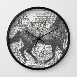 Horse Supercluster Wall Clock