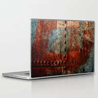 leather Laptop & iPad Skins featuring Synthetic Leather by Fernando Vieira