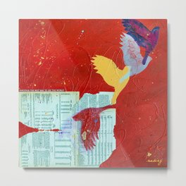 Lift by Nadia J Art Metal Print