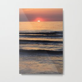 The beach for when snow gets too old to look at... Metal Print