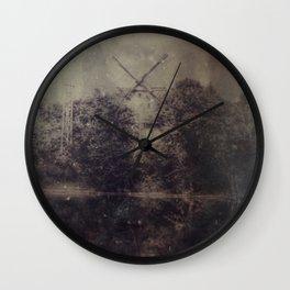 The last Stand -Windmill Wall Clock