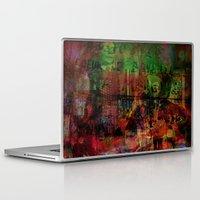 brussels Laptop & iPad Skins featuring Quartier des Marolles ( Brussels ) by Ganech joe