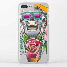 The Reaper Clear iPhone Case