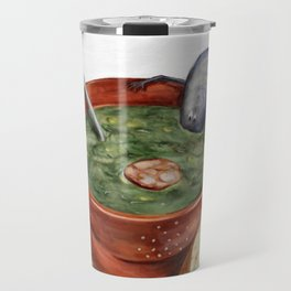 La Cuisine Fusion - Mussels with Caldo Verde Travel Mug