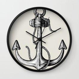 Sea Anchor Wall Clock