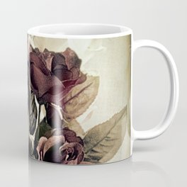 Roses in Pitcher Modern Cottage Chic Country Still Life A450 Coffee Mug