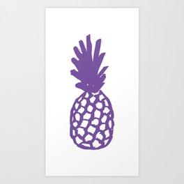 Purple Pineapple Kunstdrucke