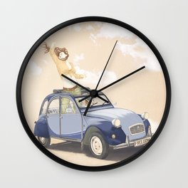 Freedom Drive Wall Clock