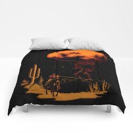 Atomic Cowboy Comforters