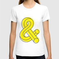 ampersand T-shirts featuring Ampersand by MADEYOUL__K