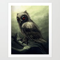 howl Art Prints featuring Howl  by Shana Patry