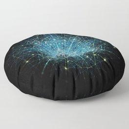 Dimensional Tensegrity Floor Pillow