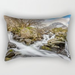 Trfan Mountain Rapids Rectangular Pillow