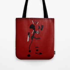 Merc with a mouth (Deadpool) Tote Bag