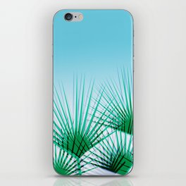 Airhead - memphis throwback retro vintage ombre blue palm springs socal california dreamer pop art iPhone Skin