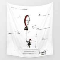 balloon Wall Tapestries featuring Balloon by Anca Chelaru