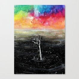 Help me Canvas Print