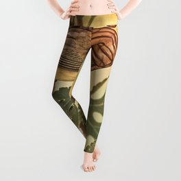 Birds In Armor Leggings