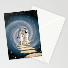 Leaving the Milky Way Stationery Cards