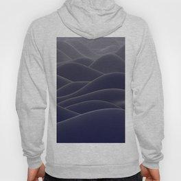 Blue ocean of wax Hoody