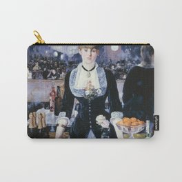 A BAR AT THE FOLIES-BERGERE - EDOUARD MANET  Carry-All Pouch