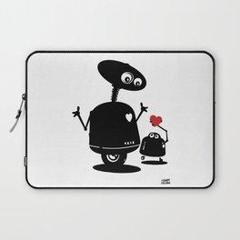 Robot Heart to Heart Laptop Sleeve