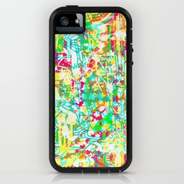 Tropical Poster iPhone Case
