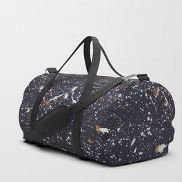 Space effect texture Duffle Bag