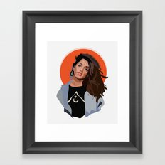 M.I.A Framed Art Print