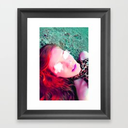 Another Red Head  Framed Art Print
