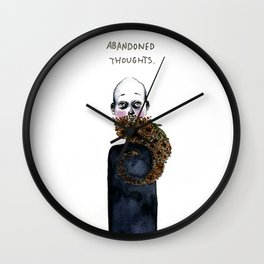 Abandoned Thoughts Wall Clock