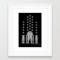 casablanca Framed Art Prints featuring Casablanca by IRENE CHAN