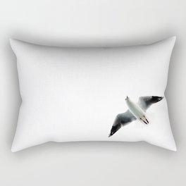 Seagull flyover Rectangular Pillow