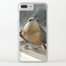 Bird Without Wings Clear iPhone Case