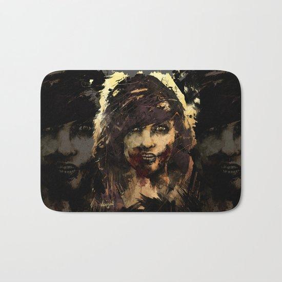 Female Zombie Bath Mat