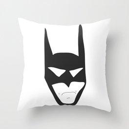 Bat Guy Throw Pillow