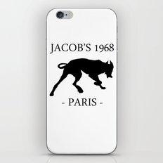 Black Dog II Contour White Jacob's 1968 fashion Paris iPhone & iPod Skin