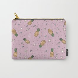 Atomic Pineapple - Pink Carry-All Pouch