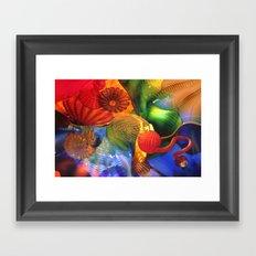 persian sky #1 Framed Art Print