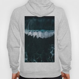 Wave in Motion - Ocean Photography Hoody