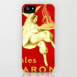 Pasta Baroni Leonetto Cappiello iPhone Case