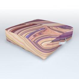 SXSW - painted desert Outdoor Floor Cushion