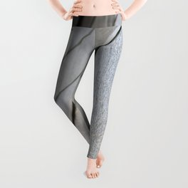 geometwalls of abstract city Leggings